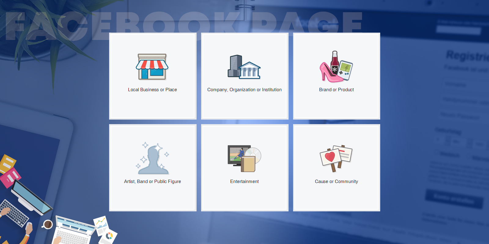 Facebook Page Types – Select the Best Category for Your Business