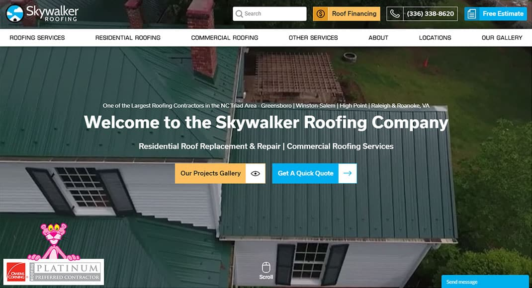 Skywalker Roofing