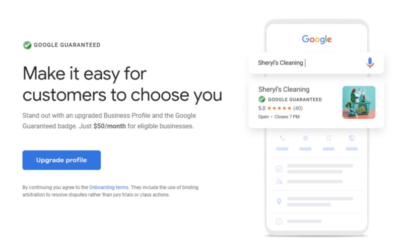 Google-Guarantee image