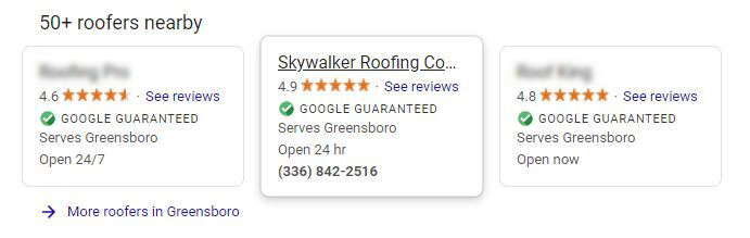 Local ads roofers